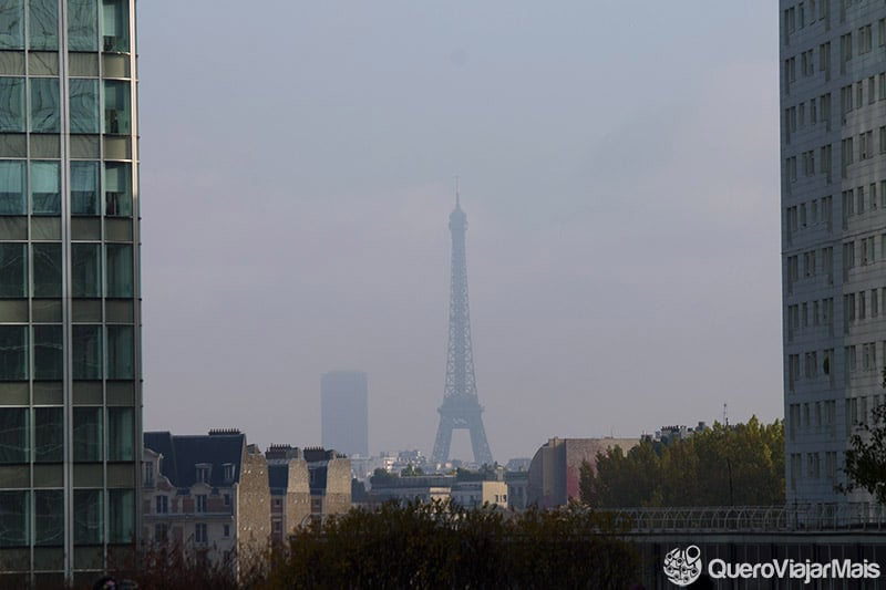 Torre Eiffel vista de La Defense