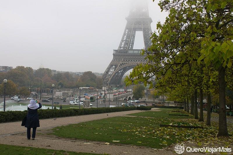 Lugares para ver a Torre Eiffel