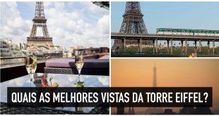 15 lugares de Paris com as melhores vistas para a Torre Eiffel