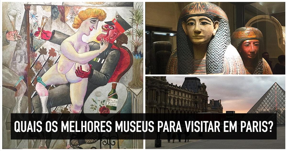 Melhores museus para visitar em Paris