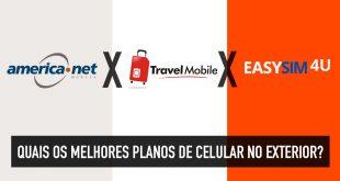 Como usar o celular no exterior