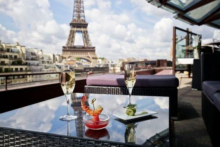 Melhores vistas da Torre Eiffel