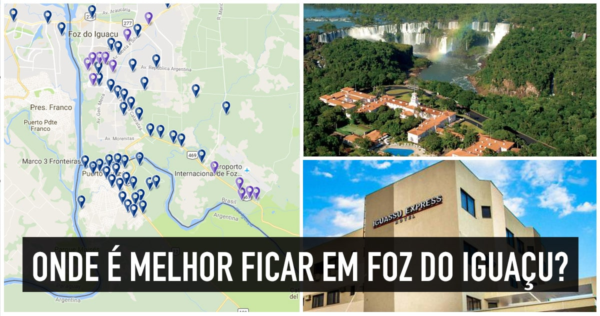 Onde se hospedar em Foz do Iguaçu