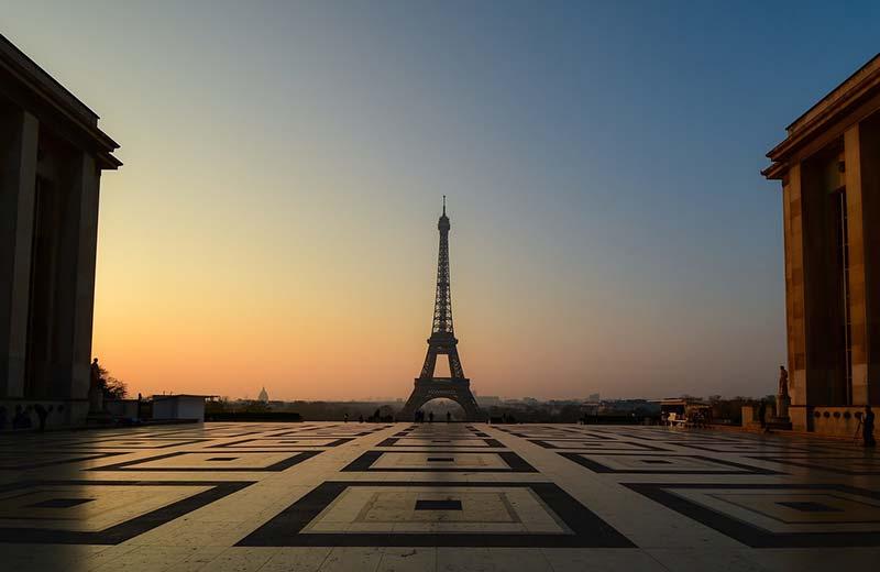 Onde é melhor ver o pôr do sol em Paris?
