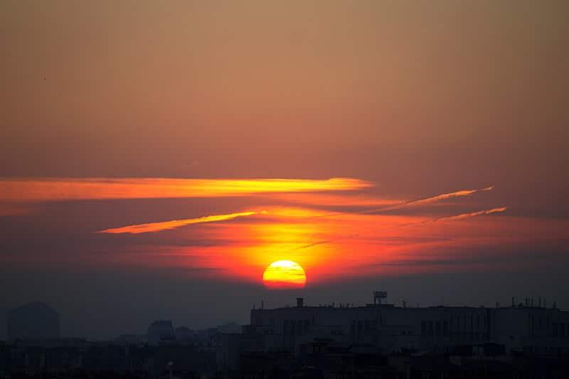 Locais para ver o pôr do sol em Paris