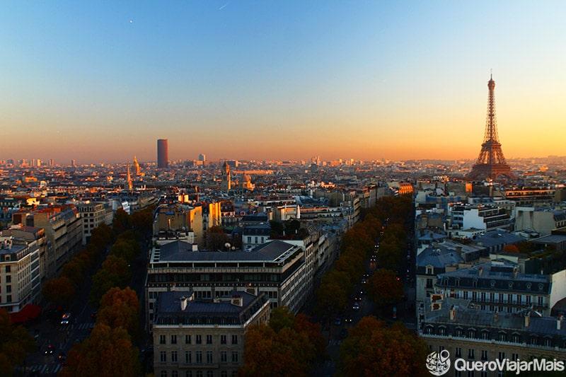 Onde ver o pôr do sol em Paris