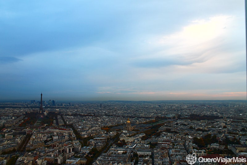 Onde ver o entardecer em Paris