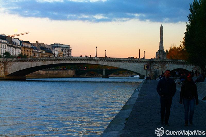 Lugares onde ver o pôr do sol em Paris