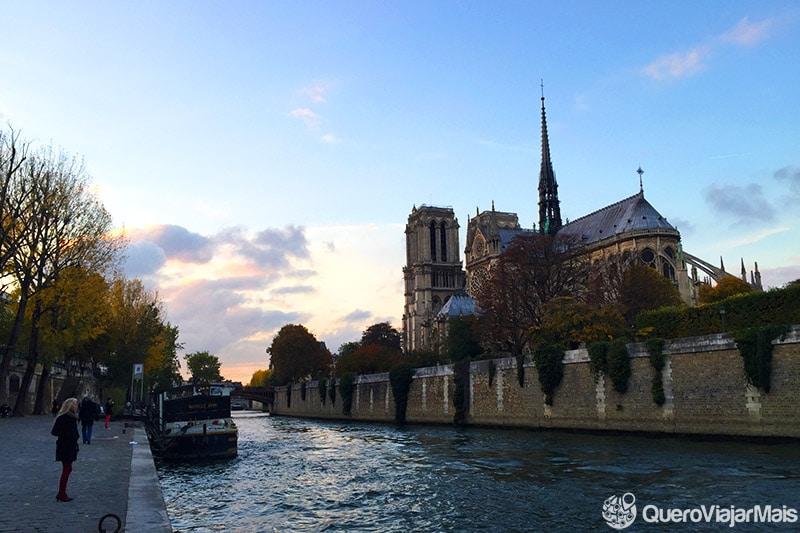 Melhores lugares onde ver o pôr do sol em Paris