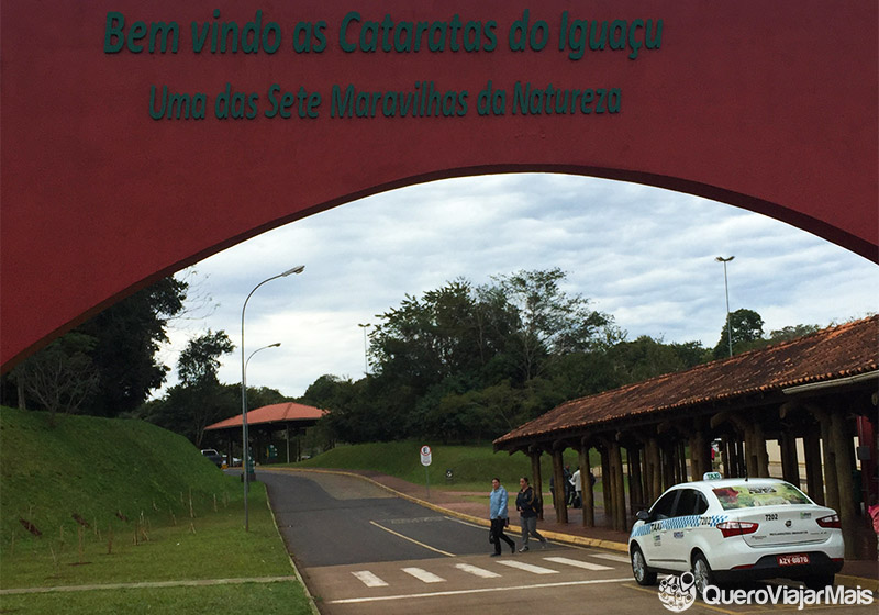 Transporte para os passeios em Foz do Iguaçu