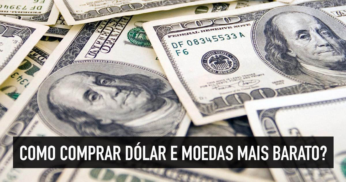 Onde comprar dólar mais barato