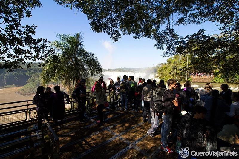 Melhor lado das Cataratas do Iguaçu