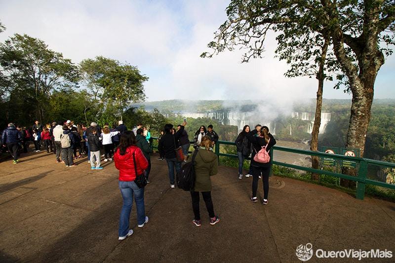Cataratas do Iguaçu no lado brasileiro