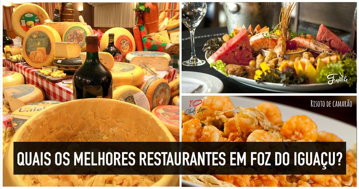 Onde comer em Foz do Iguaçu