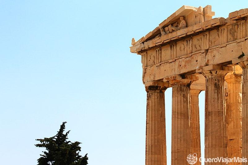 Pontos de interesse em Atenas