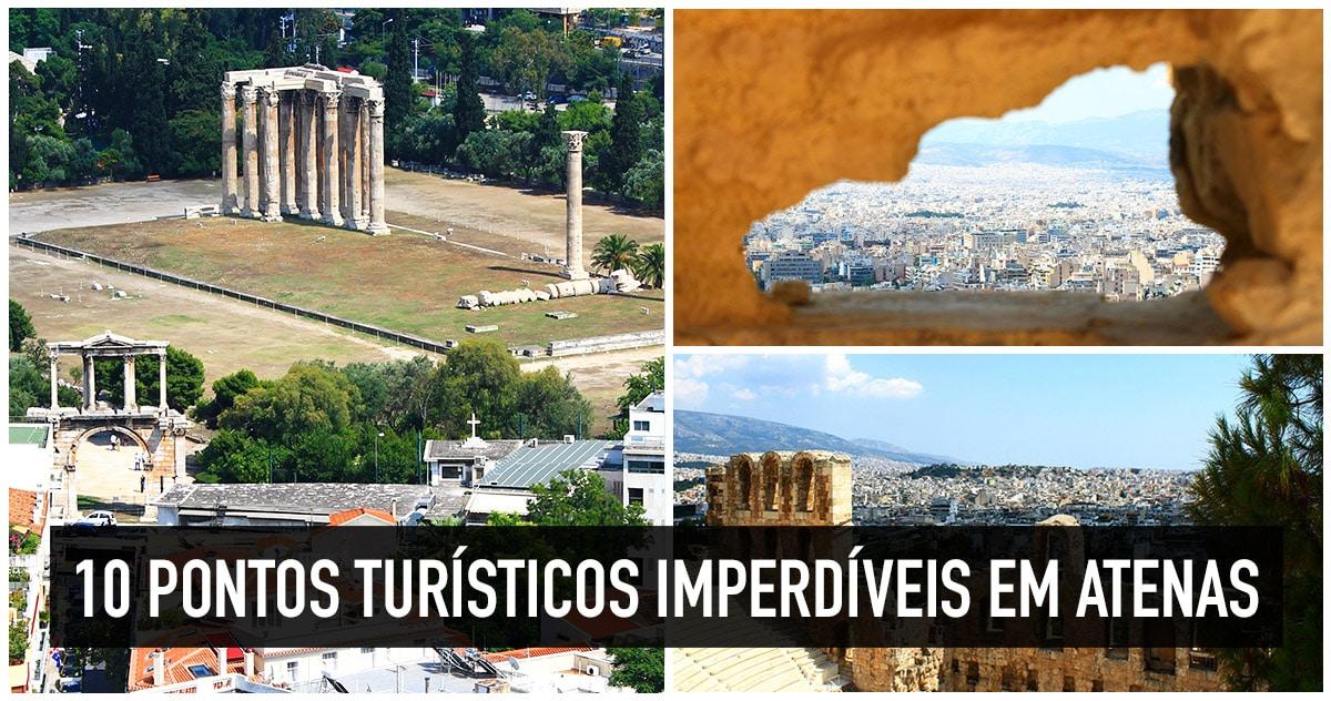 Pontos turísticos mais visitados de Atenas