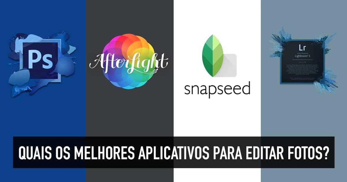 Programas e aplicativos para edição de fotos
