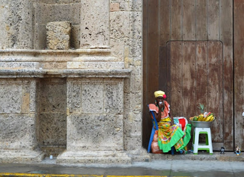 A bela Cartagena das Índias, na Colômbia