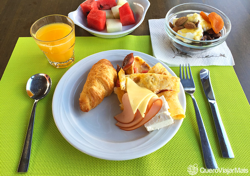 Café da manhã na Grécia