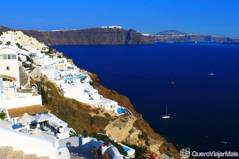 Lugares para ficar hospedado em Santorini