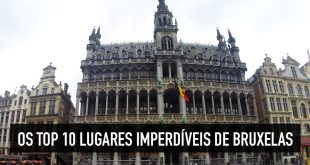 Principais e melhores pontos turísticos de Bruxelas → Os 10+