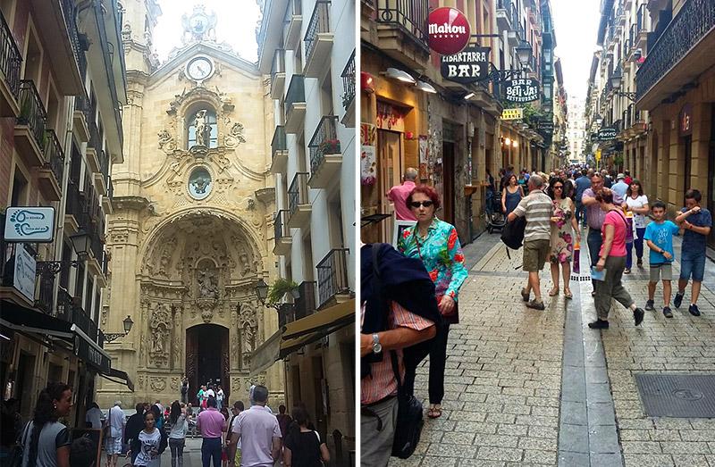 Parte Vieja San Sebastián