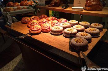 Café da manhã no Mandarin Paris