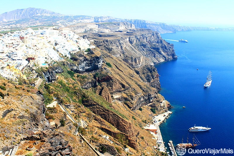 Onde é melhor se hospedar em Santorini