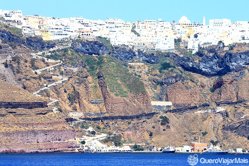Onde se hospedar em Santorini