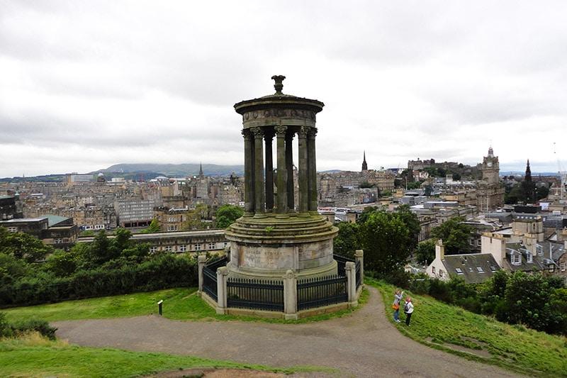 Locais para ver em Edimburgo