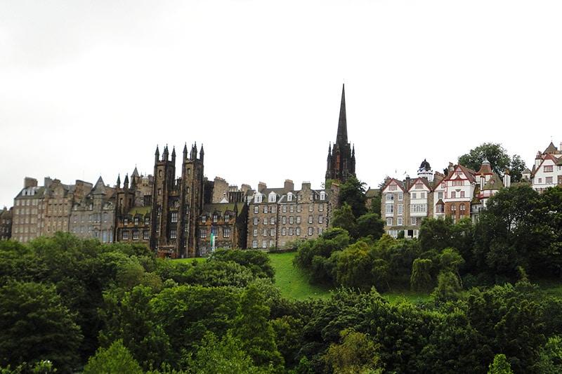 Lugares de interesse em Edimburgo
