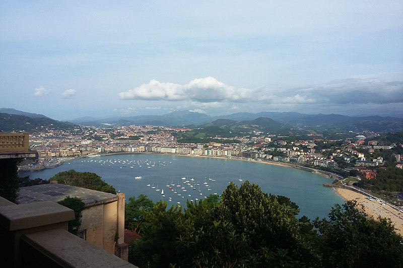 Pontos turísticos de San Sebastián