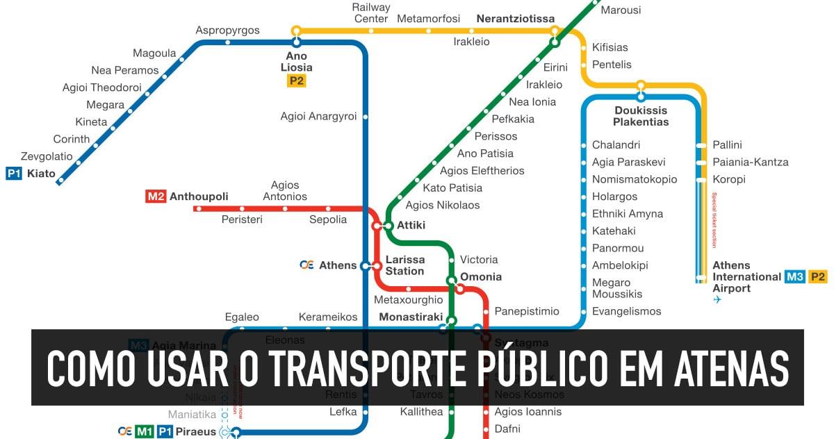 Transporte público em Atenas