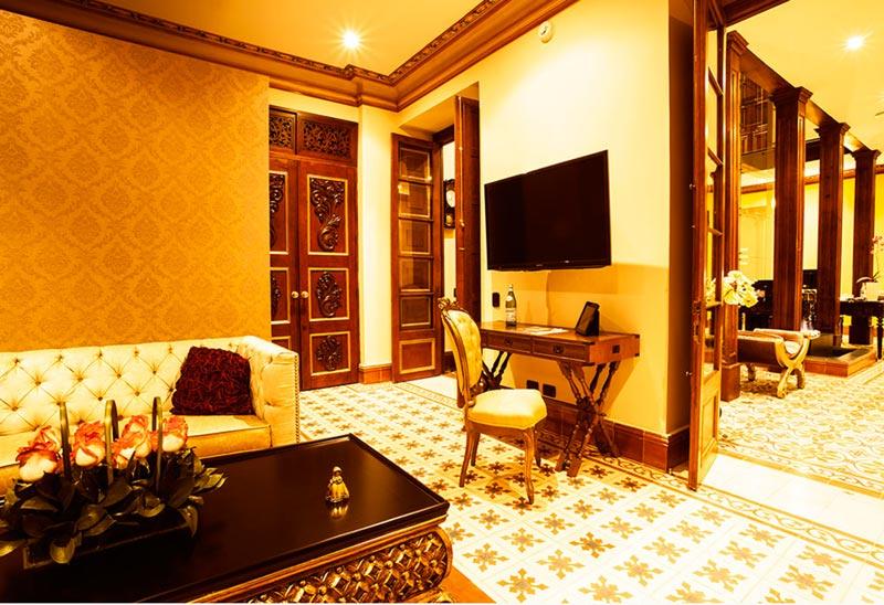 Hotéis de luxo na Colômbia