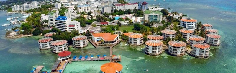 Resort em San Andrés, caribe colombiano