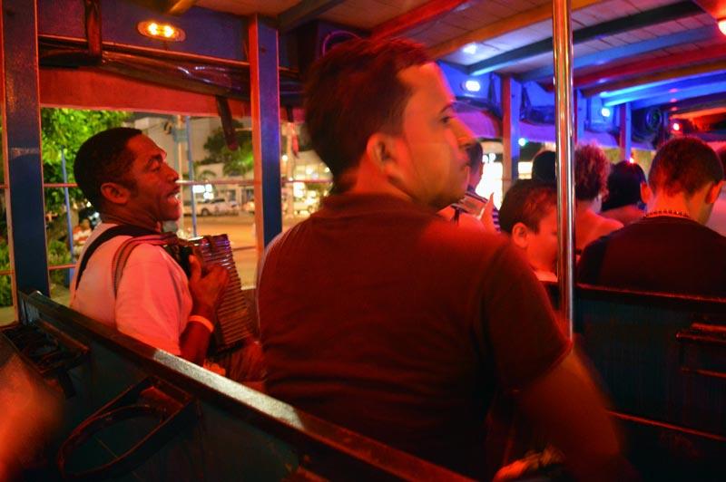 Baladas e vida noturna em Cartagena das Índias