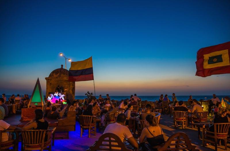 Cartagena, Colômbia: baladas e vida noturna
