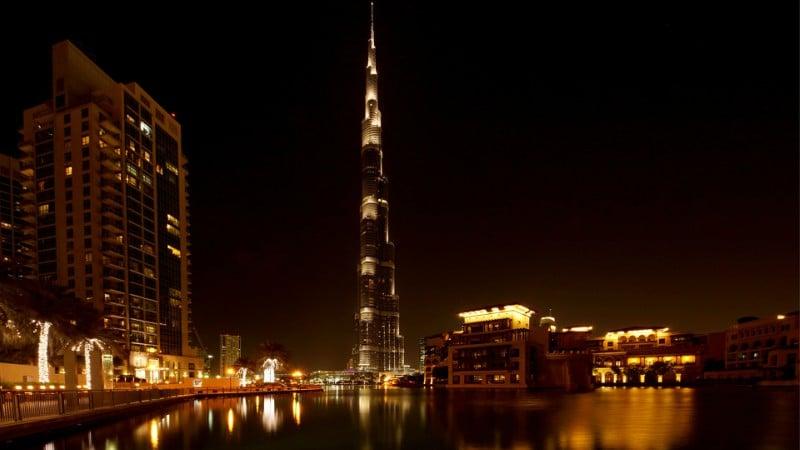 Prédio mais alto do mundo em Dubai