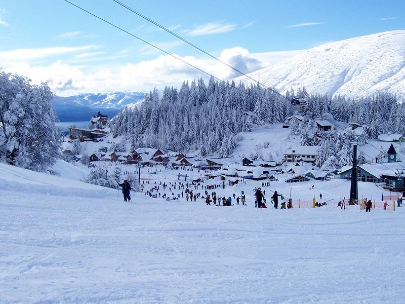 estação de esqui na Argentina