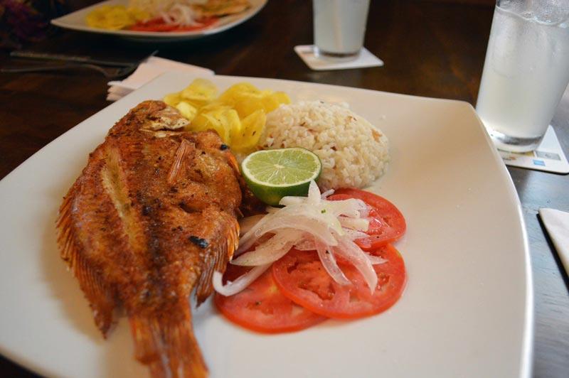 Comida de Cartagena das Índias, Colômbia