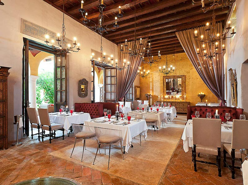 Restaurantes de comida colombiana em Cartagena