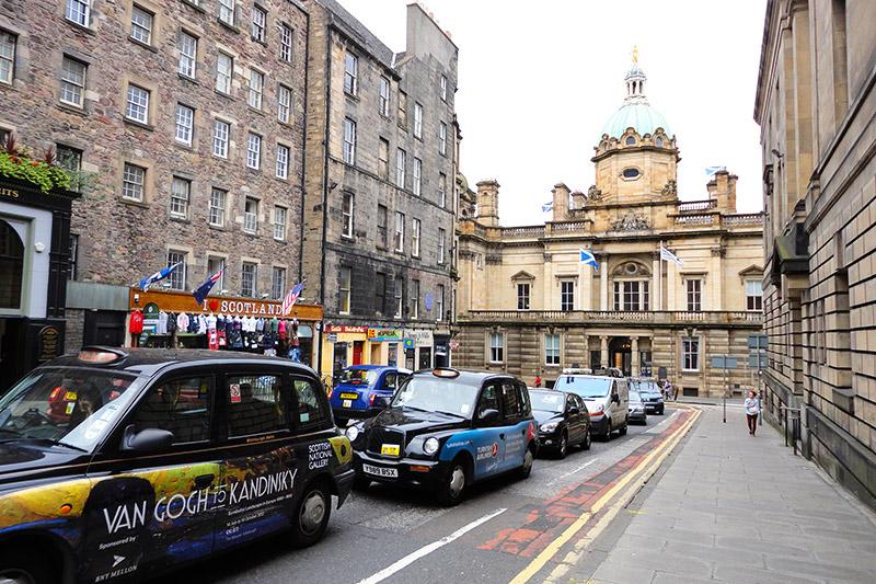 Se locomover em Edimburgo
