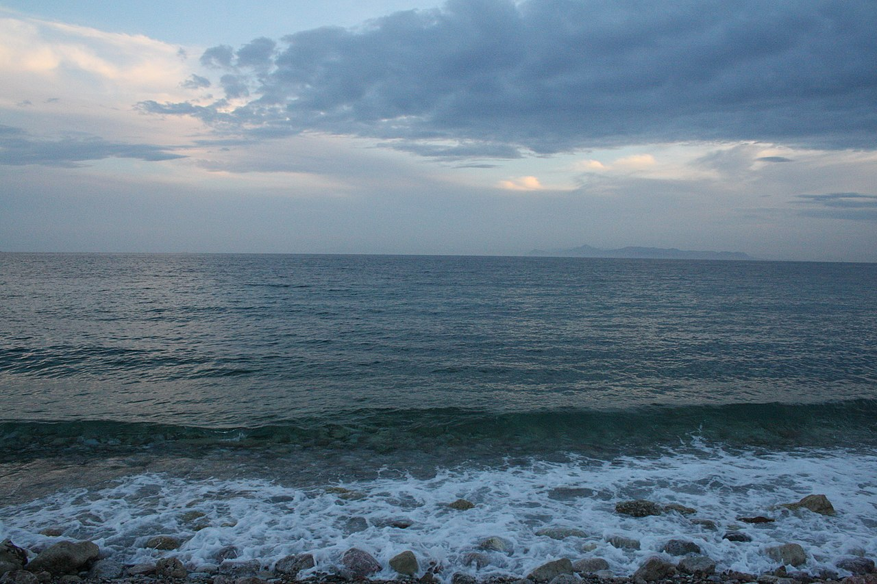 Glyfada praia próxima a Atenas