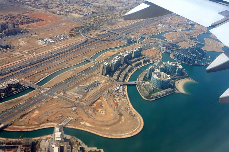 Aeroporto e transporte de Abu Dhabi