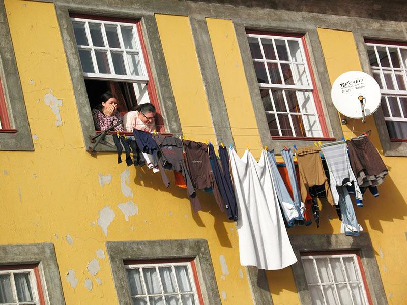 Bairro turístico da Ribeira, no Porto