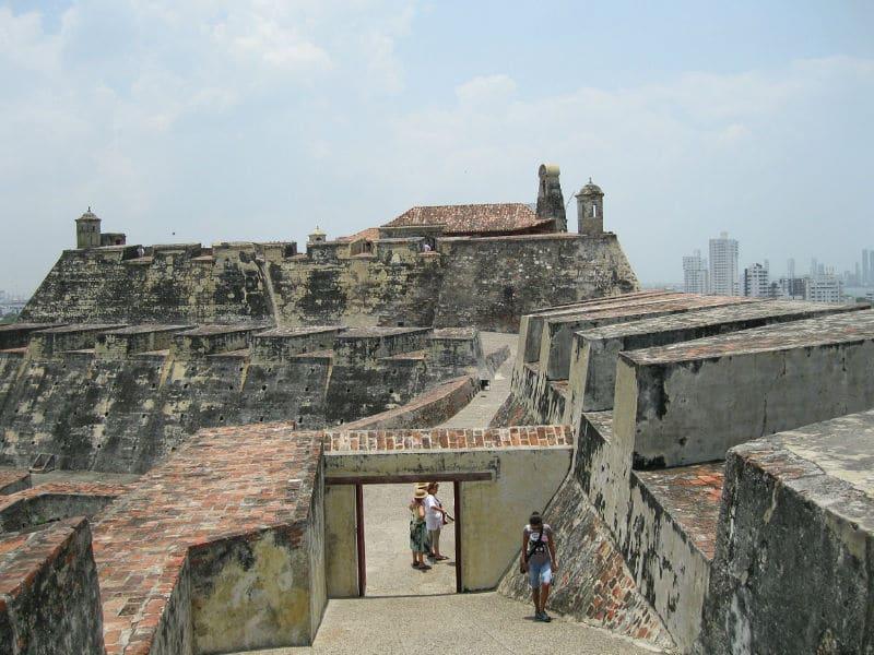 Pontos de interesse em Cartagena