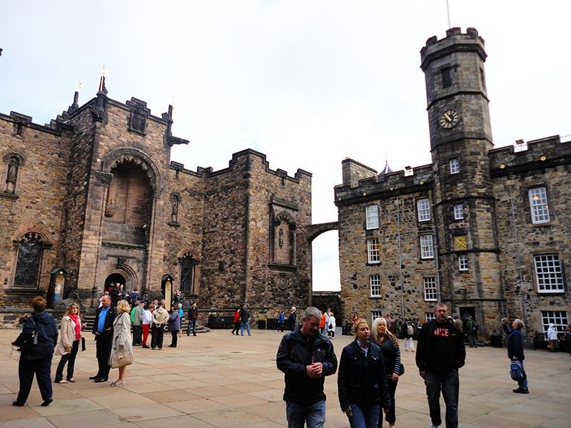 Castelo de Edimburgo visitação ao seu interior