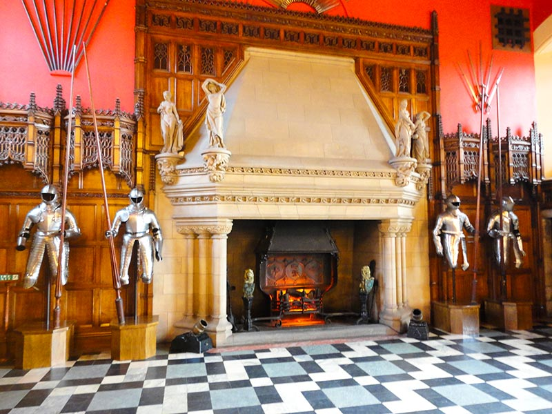 Castelo de Edimburgo - The Great Hall