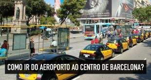 Como ir do Aeroporto de Barcelona ao centro e principais bairros