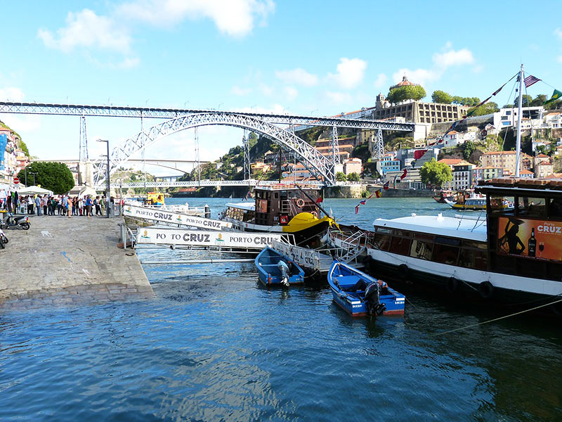 Lugares turísticos do Porto / Portugal